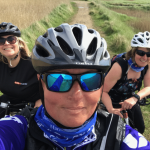 3 Harriers out Cycle Training