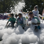 Getting bubbled up @ Norwich for EACH