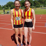 Lauren and Lucy compete at the Southern Athletics League, UEA