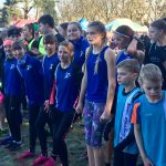 Juniors on the start line at Haughley Park