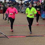 Jo Andrews and Becca Wilson at the Queen Elizabeth Park Half Marathon 10.02.19