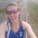 Lisa Farrington training for Norwich Half Marathon