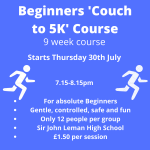 Beginners Course 30th July